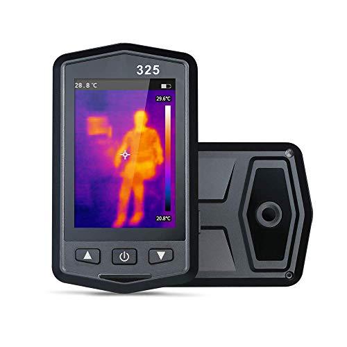 GJNVBDZSF Bildgebende Kamera Tragbare HD-Wärmebildkamera, hochauflösender 3,5-Zoll-Farb-TFT-Bildschirm mit 5-Farben-Palette, für Architektur, Stromversorgung, Landwirtschaft