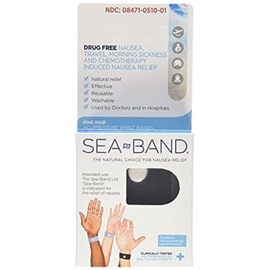 Sea-band Adult Wristband 2 Pairs