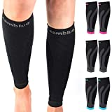 Cambivo 3 Pairs Calf Compression Sleeve for Men and Women,Leg Compression Sleeve