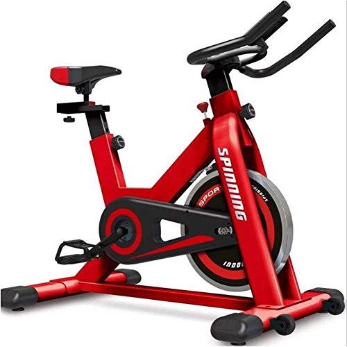 XHLLX Spinbike Bicicleta De Spinning Inicio Bicicleta Estática Equipo De La Aptitud Plating Acero Rueda De Inercia Grande Infinito Resistencia De Ajuste Triángulo Capacidad De Carga 150Kg