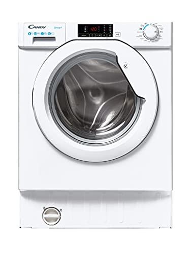 Candy CBW48D1E Integrated Washing Machine, 8KG, 1400 RPM, White