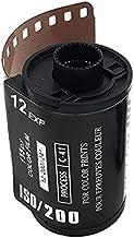 CNmuca 12 EXP ISO 400 Filme colorido para câmera Filme retro em formato de coração 135 Filme negativo para câmera à prova ...