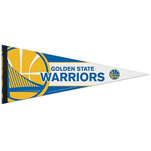 NBA 69669014 Golden State Warriors - Banderín, 30,5 x 76,2 cm