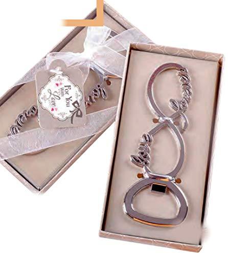 Abridores botellas PERSONALIZADOS para regalo detalle de invitados boda (pack 15 unidades) regalos detalles originales