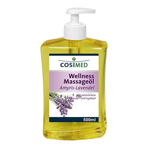 CosiMed Wellness Massageöl Amyris-Lavendel, 1er Pack (1 x 500 ml)