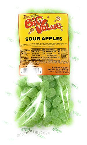 Enjoy Sour Apples Candy 14 oz