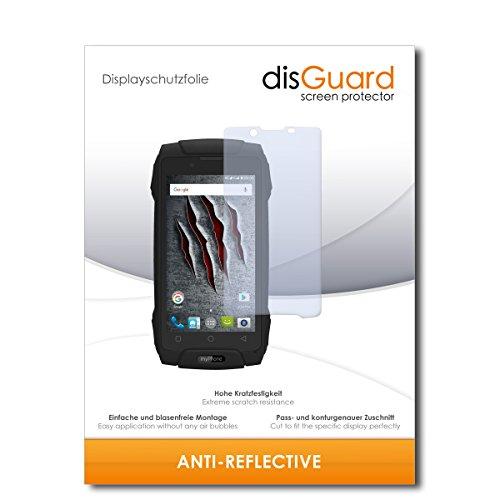 disGuard Displayschutzfolie für myPhone Hammer Axe M LTE [2 Stück] Anti-Reflex, MATT, Entspiegelnd, Extrem Kratzfest, Anti-Fingerabdruck - Displayschutz, Schutzfolie, Panzerfolie