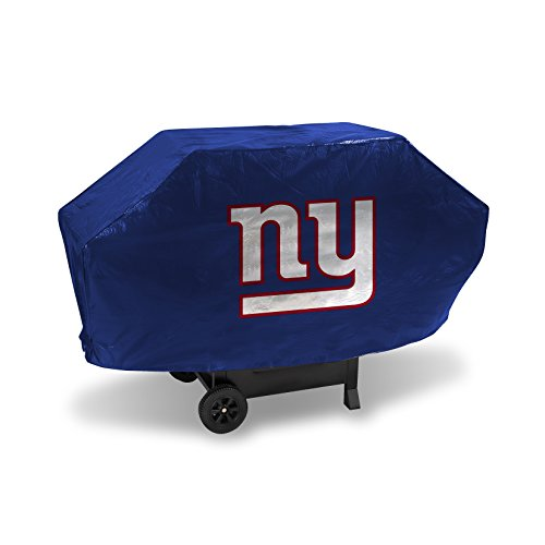 NFL Rico Industries Vinyl Padded Deluxe Grill Cover, New York Giants Team Color, 68 x 21 x 35-inches