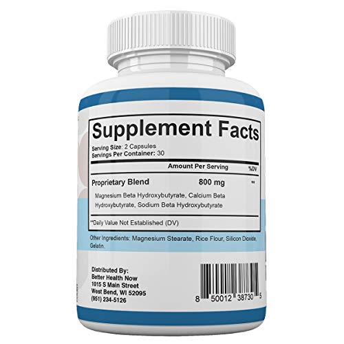 Keto Fit Advanced Formula - Ketosis Weight Loss Support - 120 Capsules - 3 Month Supply - KetoFIT 3