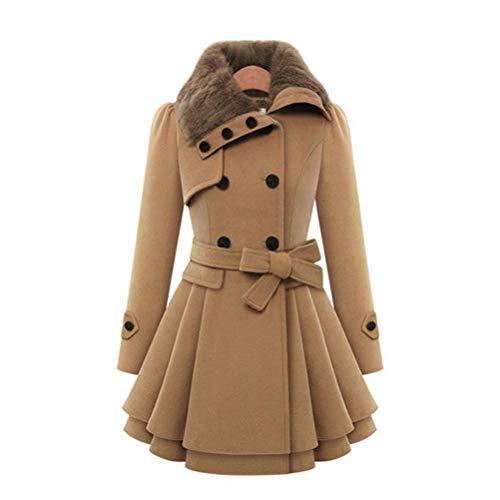 Crystallly wintermantel dames elegante oversize lange mouwen parker nepbont revers comfortabele maten slim fit mode effen kleuren overgang warme parka mantel outdoorwear
