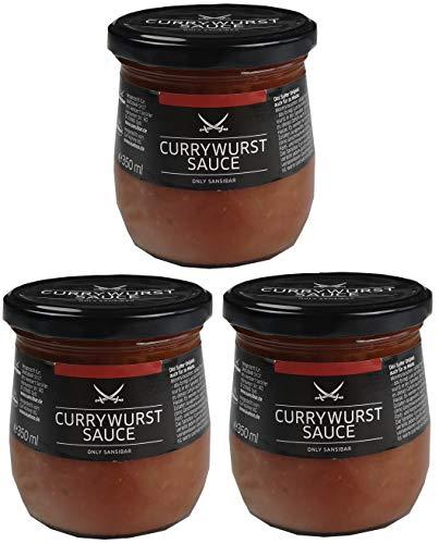 Sansibar - Currywurst Sauce spicy (würzig-scharf) je 350g (3)