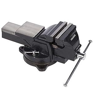 KREATOR KRT554013 - Tornillo de banco girat. 150mm