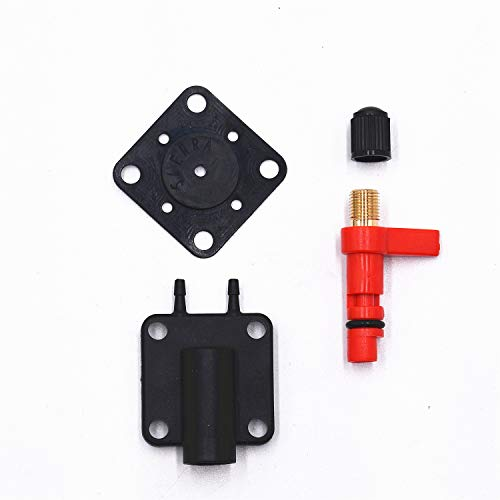 Carbman 437228 18-7044 Primer Solenoid Service Maintenance Valve Kit Replacement for Johnson Evinrude 2 3 4 6 8 Cyl 175158 341297 341071 331365