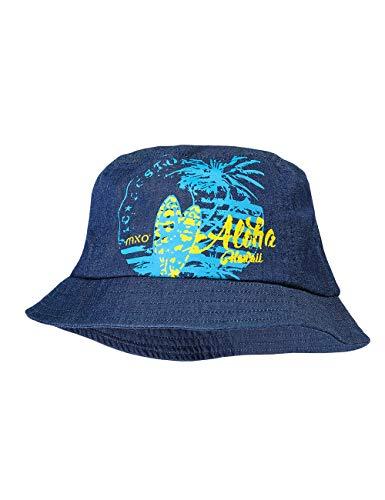 maximo Jungen Hut Mütze, Blau (Dark Denim/Riverblue 6381), (Herstellergröße: 55)