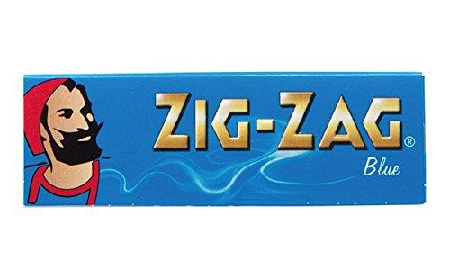 柘製作所(tsuge) ジグザグ ブルーシングル ペーパー 【スローバーニング ・ 50枚入り】 #78832 ×10パック 手巻きタバコ 巻紙