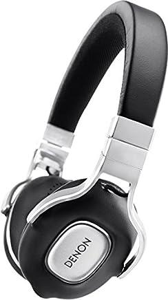 DENON ヘッドホン オンイヤー/ハイレゾ音源対応/リモコン?マイク付き ブラック AH-MM300