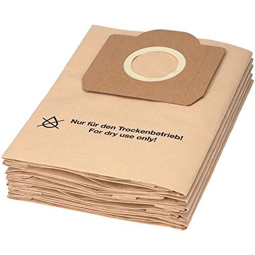 10 sacchetti per aspirapolvere, adatti per l'aspirapolvere multiuso Kärcher serie WD 3 für WD 3 Premium