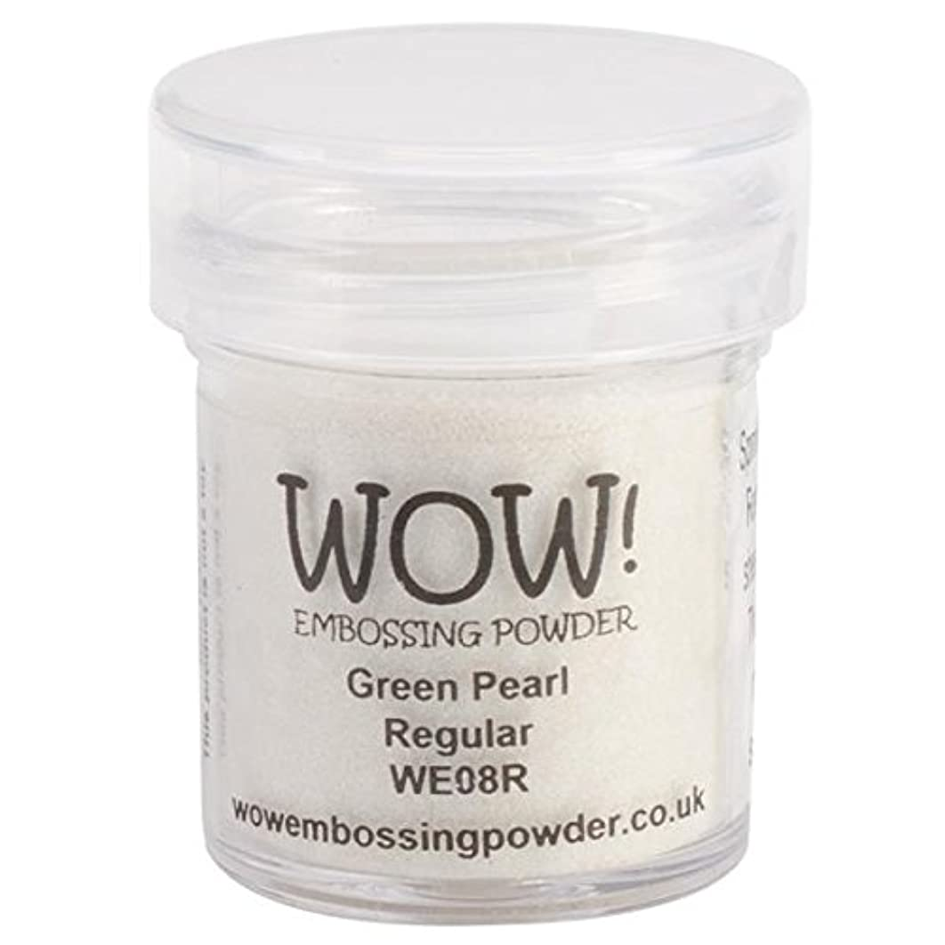 Wow Embossing Powder 15ml, Green Pearl