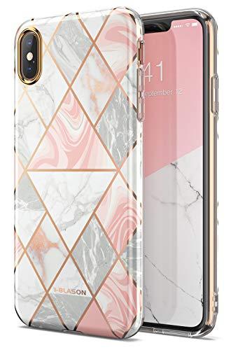 i-Blason Funda iPhone XS [Cosmo Lite] Delgada Carcasa para iPhone XS 5.8 Pulgadas Mármol