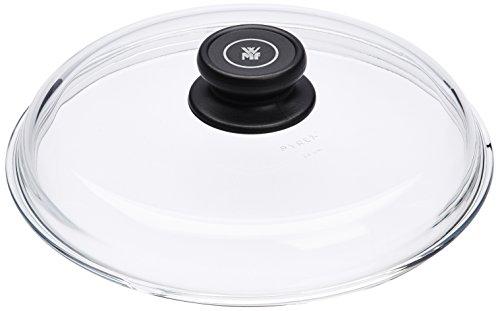 WMF Coperchio in Vetro Ø 24cm Manico in plastica Lavabile in lavastoviglie Nr 789946040