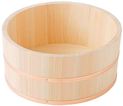 池川木材 洗面器 桧 湯桶 大 24×11cm