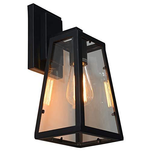 YLSMN Amerikanische kreative industrielle Retro- Wandlampenbar-Kaffeestubebalkonglaskasten-Wandlampe...