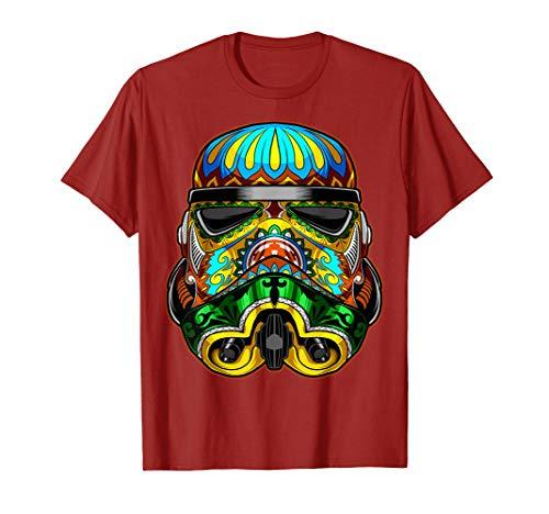 Star Wars Stormtrooper Ornate Sugar Skull Graphic T-Shirt C2