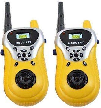 Toyshine Gizmo Walkie Talkie Set for Kids (Yellow) - B