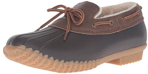 JBU by Jambu Women's Gwen Rain Shoe, Brown, 9 M US