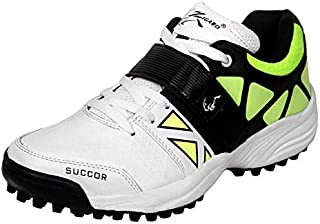 ZIGARO succor White Green Rubber Cricket