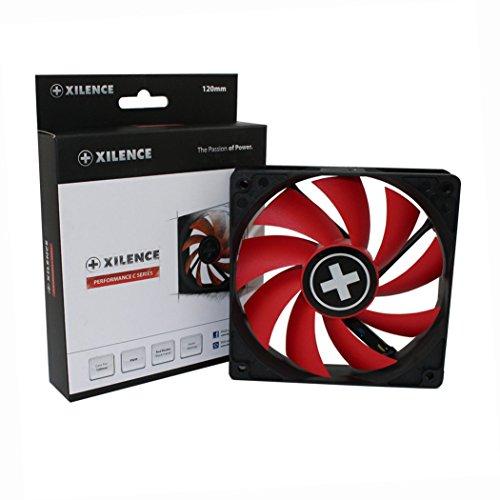 Xilence Performance C Serie | Gehäuselüfter | XF042 | PWM | 120 mm | rot/schwarz