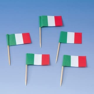 Girlande Italien Italienflaggen Fussball Fanartikel Italy Flaggengirlande 3 M