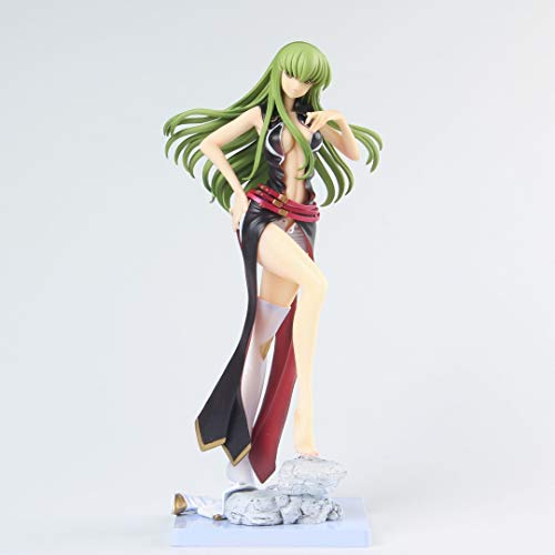 Lupovin Code Geass CC Sexy Figurine PVC Jouets Collection Doll Anime Cartoon modèle for ami Gift 21cm