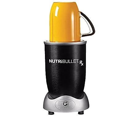 NutriBullet Rx Blender/Mixer, 10-piece Set (Certified Refurbished)