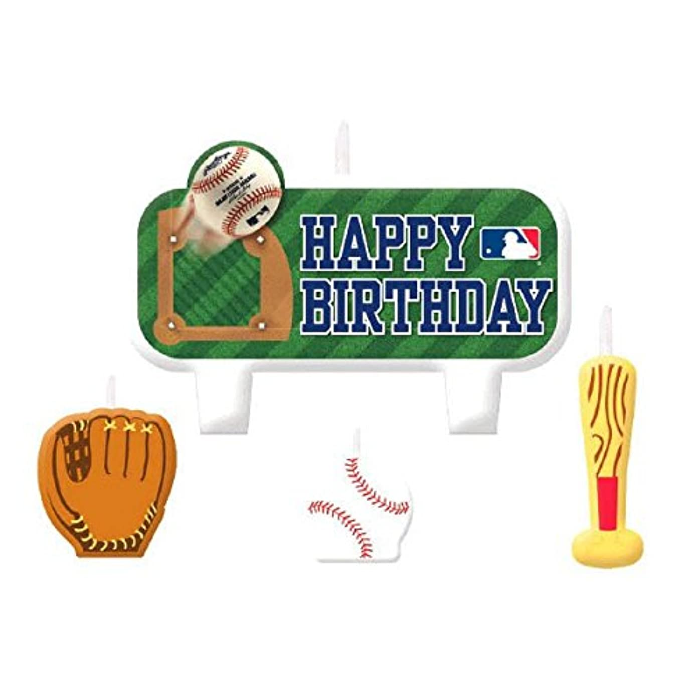 MLB Collection Candle Set, Party Decoration