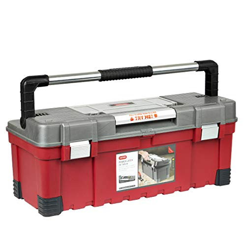 Werkzeugkoffer Keter Werkzeugkisten Werkzeugkasten Power Latch 26