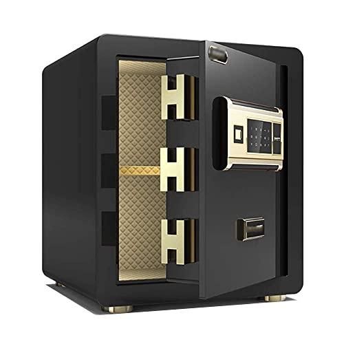 HJRBM Cassaforte Cassaforte Cassaforte La Password e l'impronta Digitale Si Accendono contemporaneamente con Il Doppio Sistema di Allarme Intelligente Cassa 40×36×31 cm (Colore : C)