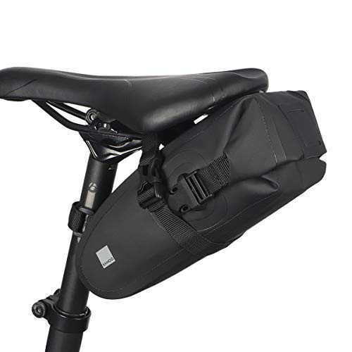 VertAst Fahrradrahmentasche, Satteltasche Fahrradtasche Radtasche für Mountainbike, Schwarz