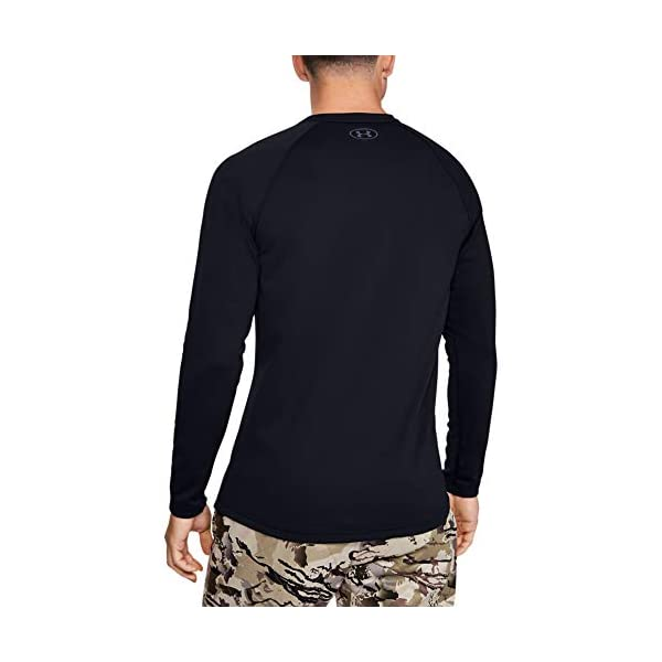 Under Armour Mens Packaged Base 4.0 Crew T-Shirt