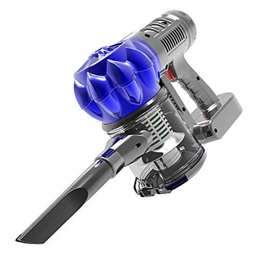 Handstaubsauger Kabellos (12 V / 120 W) für Autos/Privathaushalte, wiederaufladbarer Lithium-Batterie-Autosauger mit HEPA-Filtern, Bürste, weichem Schlauch (harter Schlauch)