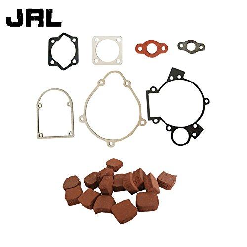 jrl 80cc kit de juntas y motor de goma almohadillas de embrague ajuste para 80cc motorizado bicicleta