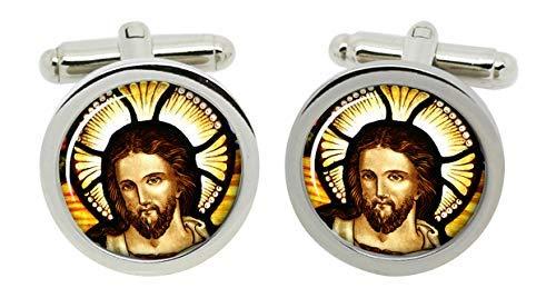 Gift Shop Icon von Christ Manschettenknöpfe in Chrom Kiste