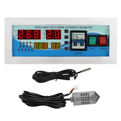 Gran pantalla LCD, controlador de incubadora, termostato de incubadora, plástico automático, fuerte antiinterferencia, para patos, para gansos, para aves