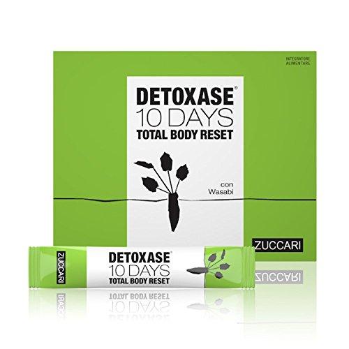 Zuccari Detoxase 10 Tage Total Body Nahrungsergänzung 10 Stick Pack Von 3g zurücksetzen