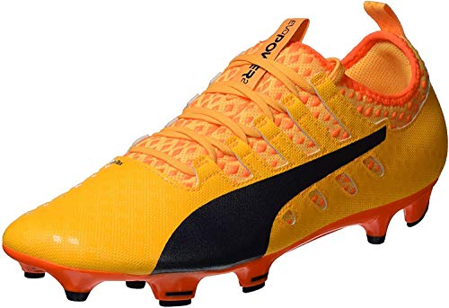 Puma Evopower Vigor 2 FG  Botas de fútbol para Hombre  Naranja (Ultra Yellow-Peacoat-Orange Clown Fish 04)  42 EU