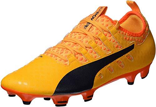 PUMA Herren EvoPower Vigor 2 FG Fußballschuhe, Orange (Ultra Yellow-Peacoat-Orange Clown Fish 04), 45 EU