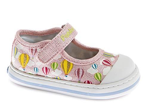 Zapatillas De Lona Niña Pablosky Rosa/Lila 961271
