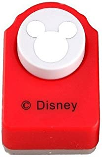 Red Paper Punch of Mickey Mouse Logo