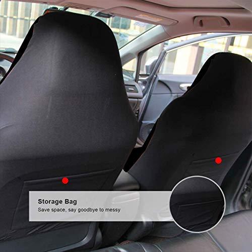 PFENK ZENRAEW Car Seat Cover Dallas Cowboys Front Seat Protector Scratch-Proof Anti-Dirt 2Pcs