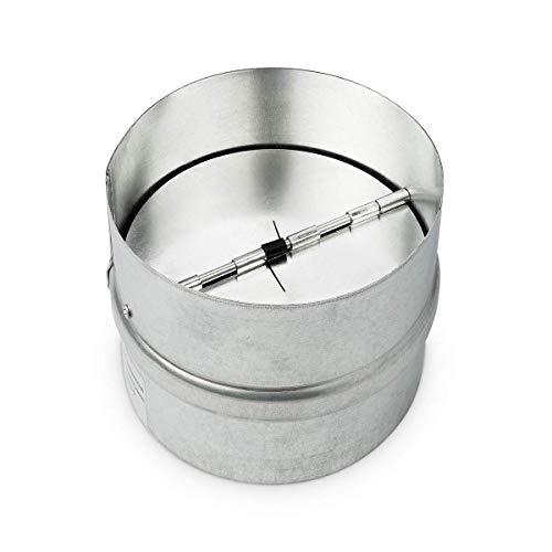neverest RK 100 mm Rückstauklappe Verbindungsstück Lüftungsrohr Lüftungsanlage